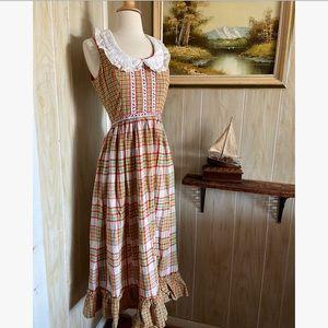 French Farm Girl Maxi Dress